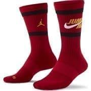 Jordan LEGACY Носки баскетбольные Красный/Черный/Белый
