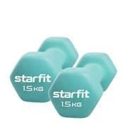Starfit CORE DB-201 1,5 КГ Гантель неопреновая (пара)