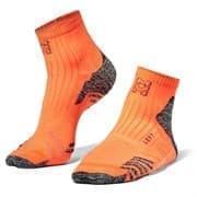 Moretan RUN SLAY Носки беговые Оранжевый/Серый