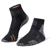 Moretan RUN SLAY Носки беговые Черный/Серый