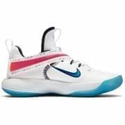 Nike REACT HYPERSET SE Кроссовки волейбольные Белый/Голубой/Розовый