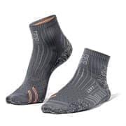 Moretan RUN SLAY Носки беговые Серый/Оранжевый