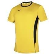 Mizuno AUTHENTIC HIGH-KYU TEE HIQ Футболка волейбольная Желтый/Черный