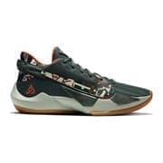 Nike ZOOM FREAK 2 Кроссовки баскетбольные Зеленый/Оранжевый