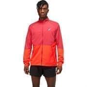 Asics VENTILATE JACKET Куртка беговая ветрозащитная Красный/Оранжевый