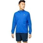 Asics ACCELERATE JACKET Куртка беговая ветрозащитная Синий/Серый