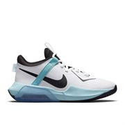 Nike AIR ZOOM CROSSOVER Кроссовки баскетбольные детские Белый/Черный/Голубой