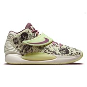 Nike KD14 Кроссовки баскетбольные Салатовый/Розовый